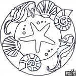 Mandala, koník