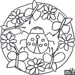 Mandala, beruška