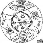 Mandala, sova