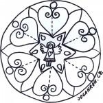 Mandala, anděl