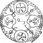 Mandala, koláče