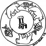 Mandala, židle 1