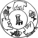 Mandala, židle 2